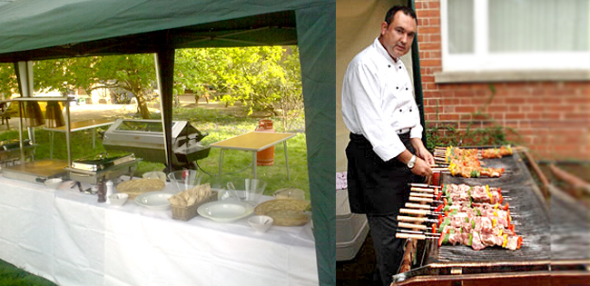 BBQ Party Catering for London Company