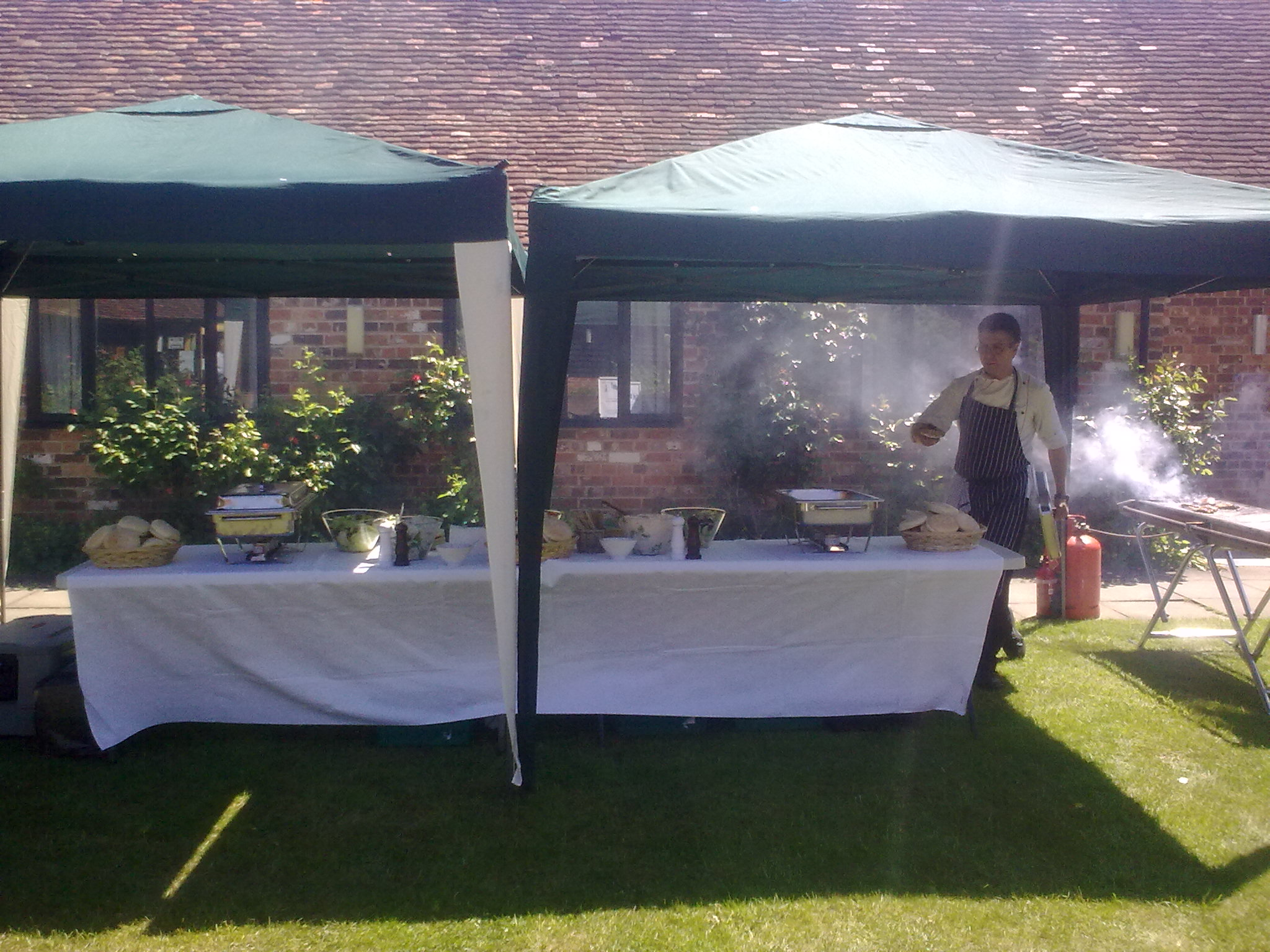 Corporate BBQ Garden Party for Company in Maidenhead